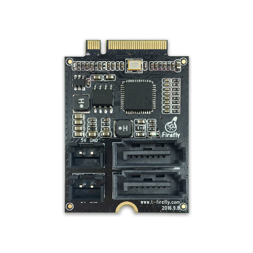 PCIe M.2(B-KEY) to SATA3.0转接板